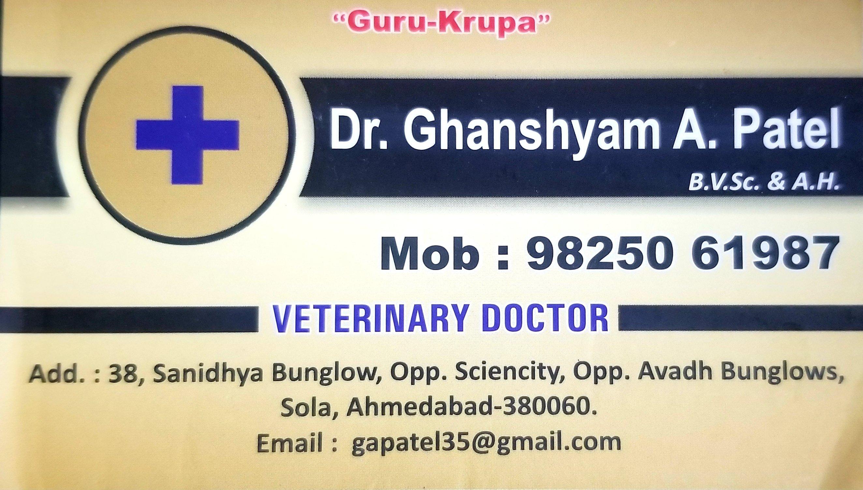 Veterinary doctor