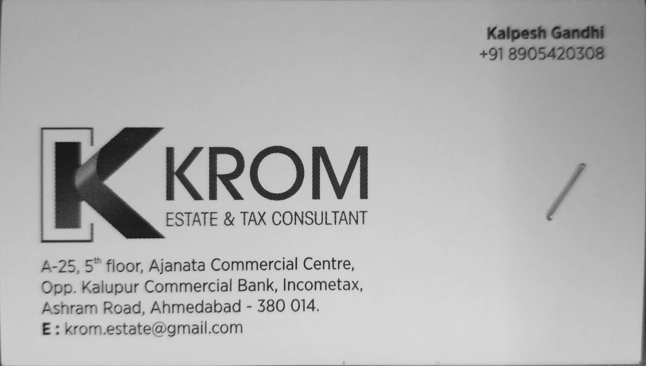 Krom Estate & Tax Consultant