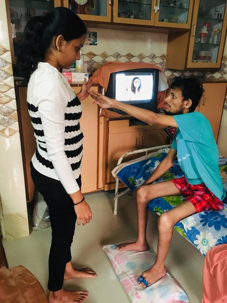 physiotherapist(Dr Ankita Patel )