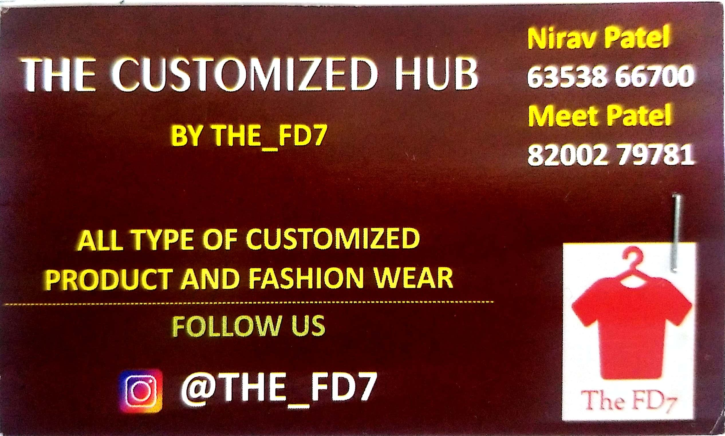 The Customized Hub (The_FD7)