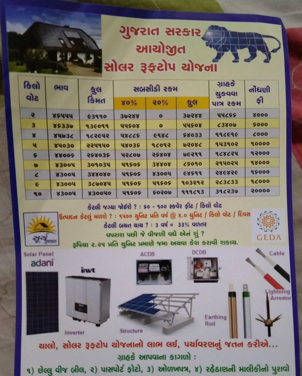 Samyak Solor Water Heater